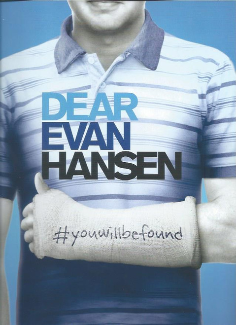 Souvenir Brochure OBC - Ben Platt, Laura Dreyfuss, Rachel Bay Jones All his life Evan Hansen has felt invisible. To his peers, to the girl he loves, sometimes even to his own mother. But that was before he wrote the letter – that led to the incident- that started the lie – that ignited a movement – that inspired a community – and changed Evan's status from the ultimate outsider into the somebody everyone wants to know. But how long can Evan keep his secret? And at what price?