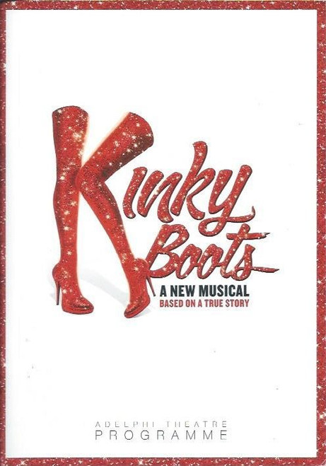 Kinky Boots is based on the 2005 British film of the same name which is about a struggling, family-owned English shoe factory that avoids bankruptcy when its young boss, Charlie, develops a plan to produce custom fetish-type footwear