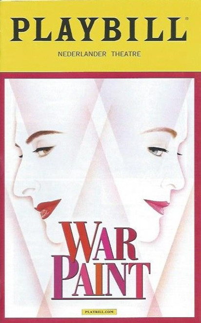 War Paint is a musical with book by Doug Wright, music by Scott Frankel, and lyrics by Michael Korie, based both on Lindy Woodhead's 2004 book War Paint and on the 2007 documentary film The Powder & the Glory by Ann Carol Grossman and Arnie Reisman