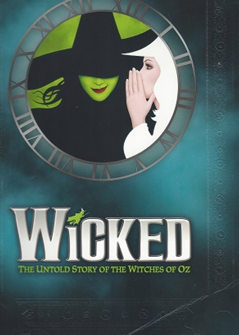 Wicked 10 year AnniversaryPurple Souvenir Brochure, Wicked is a musical with music and lyrics by Stephen Schwartz and a book by Winnie Holzman.