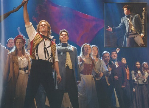 Les Misérables is a sung-through musical based on the novel Les Misérables by French poet and novelist Victor Hugo. It has music by Claude-Michel Schönberg, original French lyrics by Alain Boublil and Jean-Marc Natel, with an English-language libretto by Herbert Kretzmer.