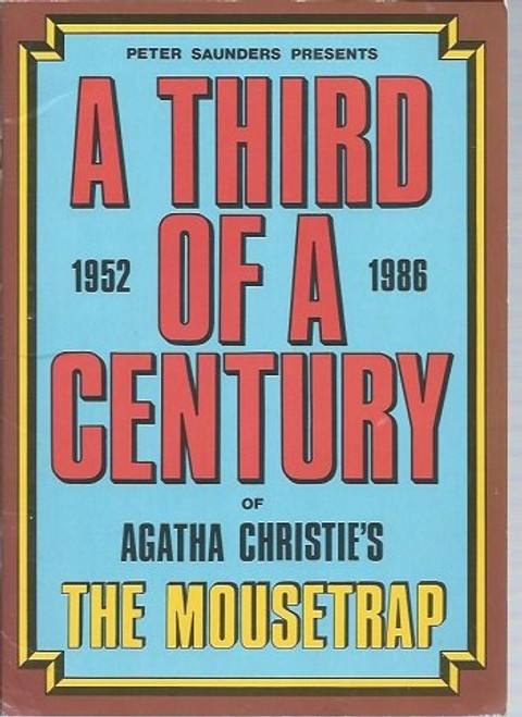 The Mousetrap is a murder mystery play by Agatha Christie,  The Mousetrap opened in London's West End in 1952