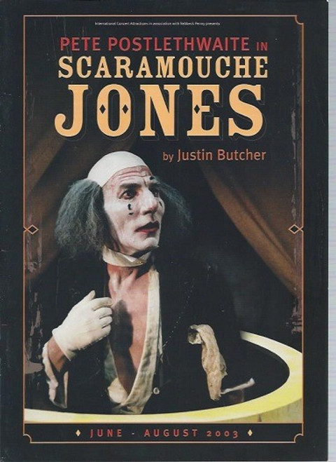 Scaramouche Jones, by Justin Butcher, This brilliant one-man show begins 11pm on Millennium Eve