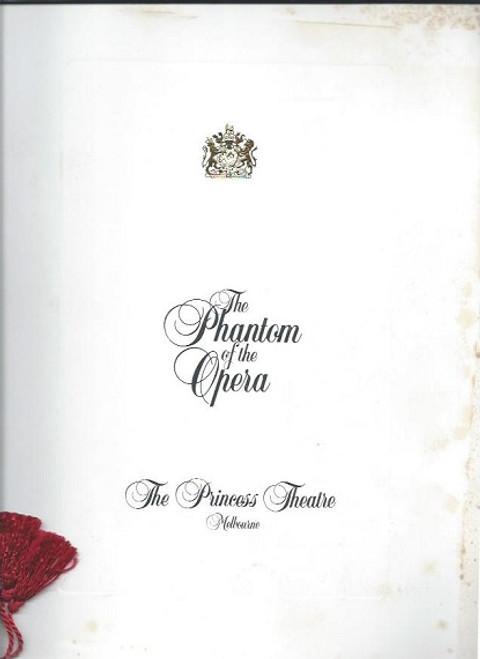 The Phantom of the Opera (Musical), Rob Guest - Marina Prior - Martin Croft, 1993 Melbourne Production