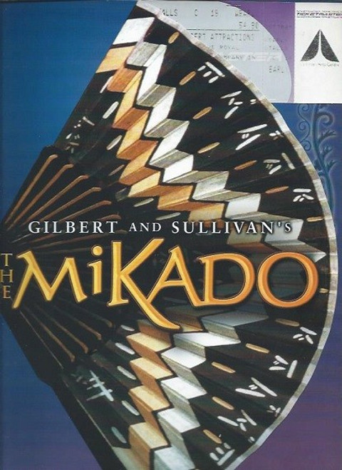 The Mikado; or, The Town of Titipu is a comic opera in two acts, with music by Arthur Sullivan and libretto by W. S. Gilbert, their ninth of fourteen operatic collaborations