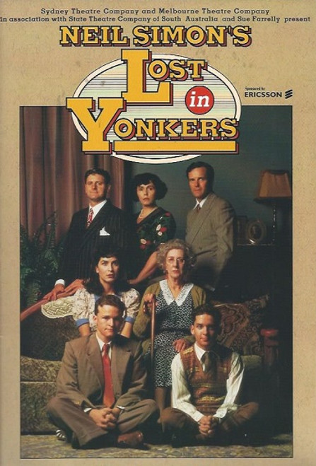 Lost in Yonkers is a 1991 Pulitzer Prize-winning play by Neil Simon. After eleven previews, the Broadway production, produced by Emanuel Azenberg and directed by Gene Saks, opened on February 21, 1991 at the Richard Rodgers Theatre