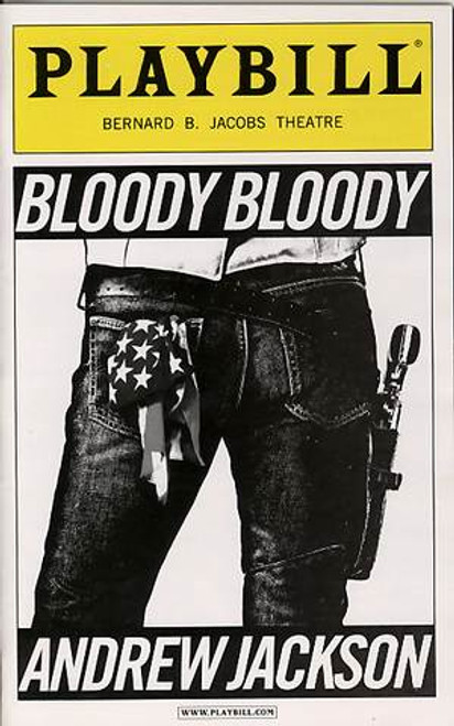 Bloody Bloody Andrew Jackson Playbill Sept 2010