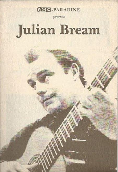 Julian Bream, Australian Tour 1979, Adelaide, Sydney, Melbourne, Sydney