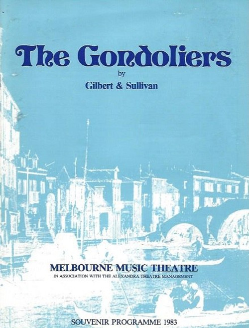 The Gondoliers; or, The King of Barataria is a Savoy Opera, with music by Arthur Sullivan and libretto by W. S. Gilbert. The Gondoliers by Gilbert & Sullivan 1983, Norman Yemm, Edwin Hodgeman, Janette Kearns, Willian Bamford