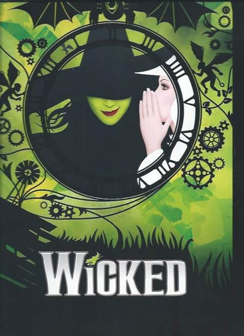 Wicked (Musical) Broadway Brochure –2016 Cast Jennifer DiNoia - Carrie St Louis, Michael Campayno