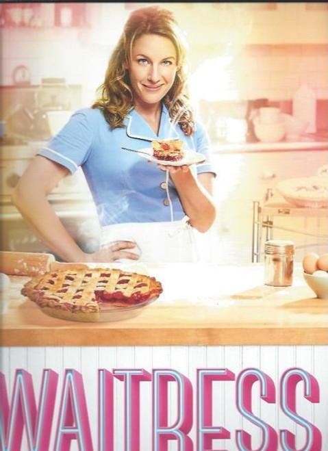 Waitress (Musical) Jessie Mueller - Eric Anderson - Nick Cordero - Drew Gehling, Souvenir Brochure - OBC