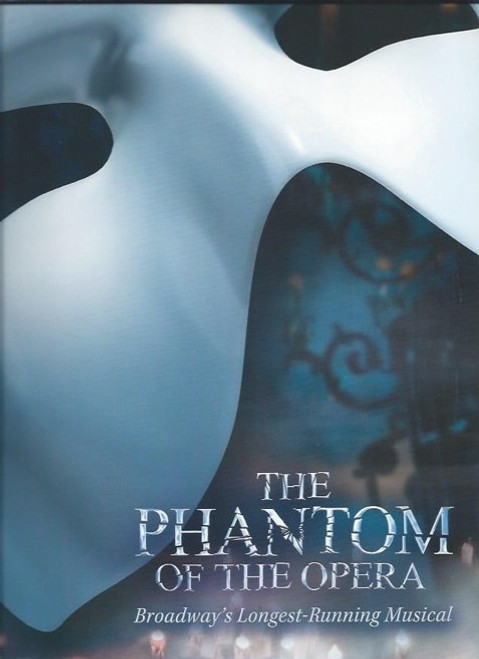 Phantom of the Opera, Broadway Souvenir Brochure 2016, James Barbour - Ali Ewoldt - Jordan Donica