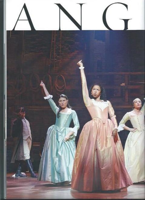 HamiltonSouvenir BrochureSept 2015, Lin Manuel Miranda – Jonathan Groff - OBC, Hamilton is a musical with music, lyrics, and book by Lin-Manuel Miranda. It is inspired by the biography Alexander Hamilton, by Ron Chernow.