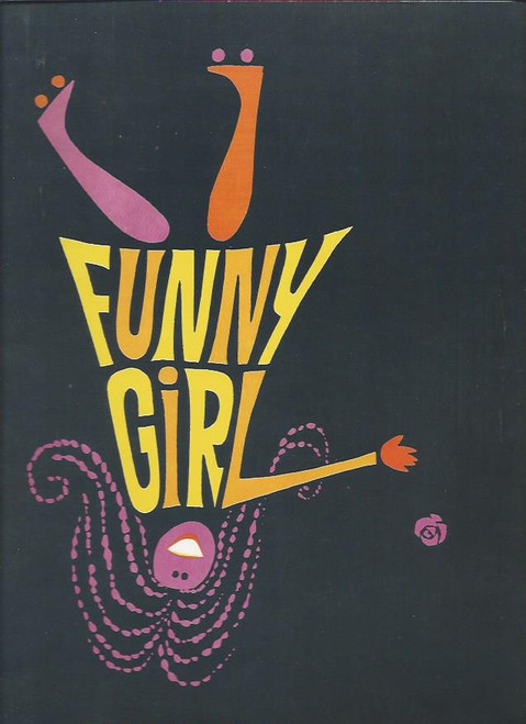 Funny Girl (Musical), Barbra Streisand, Johnny Desmond, Broadway Wintergarden Theatre Souvenir Brochure