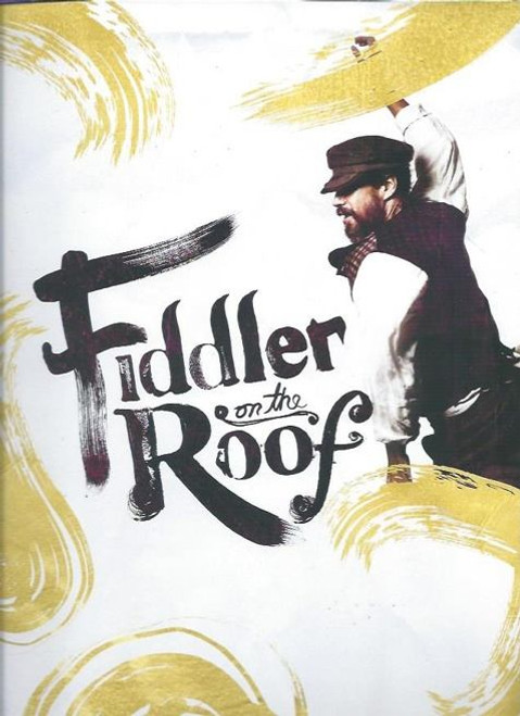 Fiddler on the Roof 2015 Broadway Revival, Souvenir Brochure,   Broadway Theatre Danny Burstein, Jessica Hecht, Adam Kantor