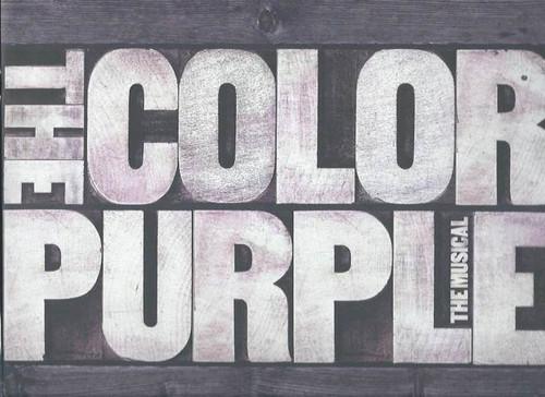 The Color Purple (Musical) Music and Lyrics by Brenda Russell, Allee Willis and Stephen Bray, Cynthia Erivo Heather Headley, Bernard B. Jacobs Theatre (Souvenir Brochure)