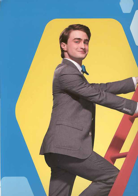 How to Succeed in Business Without Really Trying, Daniel Radcliffe, John Larroquette – Souvenir Brochure with Postcards