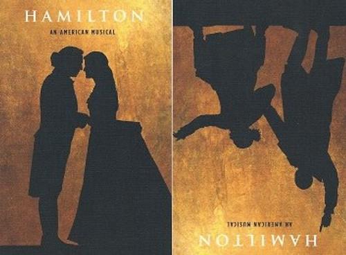 """Hamilton"" Postcards 2015 Season, Lin Manuel Miranda – Jonathan Groff, Hamilton is a musical with music, lyrics, and book by Lin-Manuel Miranda."