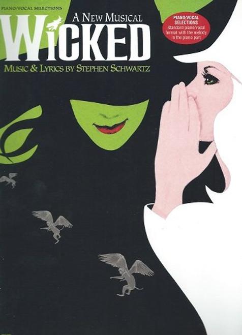 Wicked Piano/Vocal Selections, Music & Lyrics by Steven Schwartz, Gershwin Theatre New York 2003 - Open Run - LAST ONE