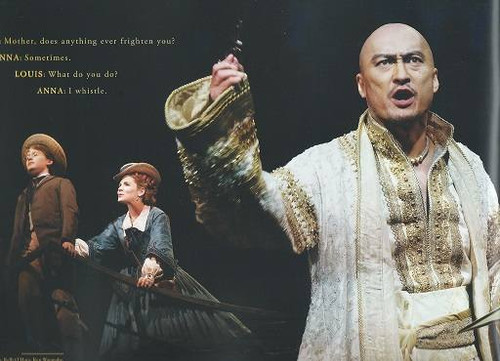 The King and I Souvenir Brochure, 2015 Season Featuring Kelli O'Hara Ken Watanabe, The King and I is a musical, the fifth by the team of composer Richard Rodgers and dramatist Oscar Hammerstein II.