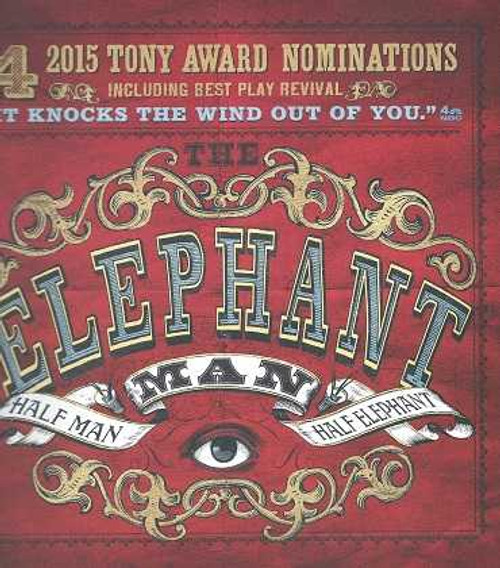 The Elephant Man Booth Theatre Broadway, Bradley Cooper - Patricia Clarkson, Tony Voter Souvenir Brochure, The story is based on the life of Joseph Merrick, referred to in the script as John Merrick, who lived in the Victorian era and is known for the extreme deformity of his body