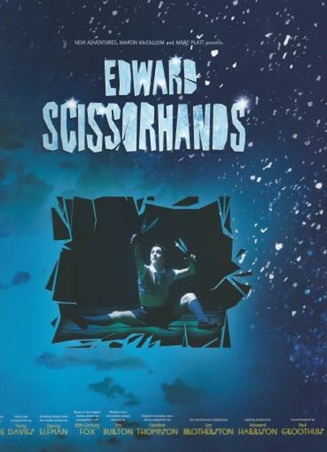 Edward Scissor Hands the Musical, London's Sadler's Wells Matthew Bourne 2005, Matthew Bourne's delightful adaptation of the classic Tim Burton motion picture is a treat for all the family