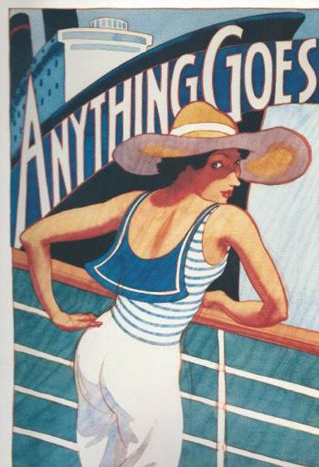 Anything Goes is a musical with music and lyrics by Cole Porter. The original book was a collaborative effort by Guy Bolton and P.G. Wodehouse, heavily revised by the team of Howard Lindsay and Russel Crouse. Patti LuPone, Howard McGillin, Bill McCutcheon, Rex Everhart,Annie Francine, Linda Hart, Anthony Heald, Kathleen Mahony-Bennett