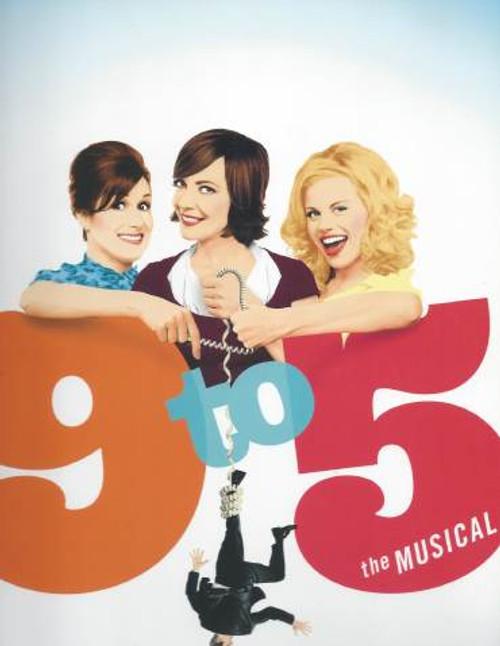 9 to 5 (Musical) Souvenir Brochure, Allison Janney, Stephanie J Block, Megan Hilty, Kathy Fitzgerald -Ahmanson Theatre LA, Out of Town TryOut (That's Rare) 2008