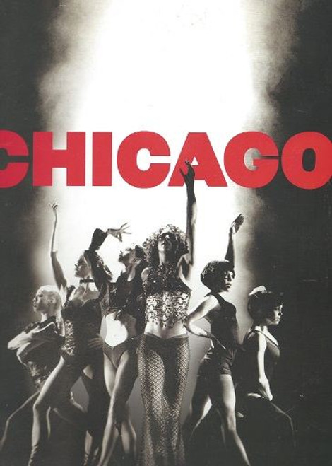"""Chicago 2004 London Production, Adelphi Theatre Souvenir Brochure, Chicago is a Kander and Ebb musical set in Prohibition-era Chicago. The music is by John Kander with lyrics by Fred Ebb and a book by Ebb and Bob Fosse. The story is a satire on corruption in the administration of criminal justice, and the concept of the """"celebrity criminal""""."""