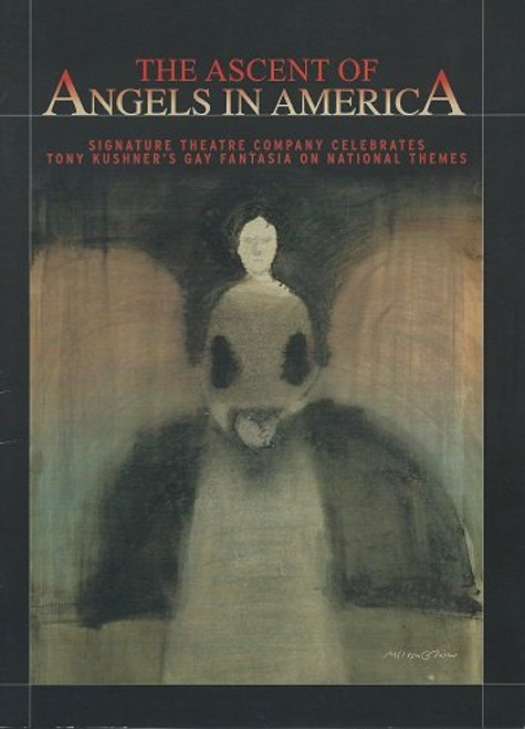 Angels in America (Play) Signature Theatre Company, Souvenir Brochure - A Celebration, Robin Bartlett, Christian Borle, Bill Heck, Zoe Kazan, Billy Porter, Zachary Quinto, Robin Weight, Frank Wood