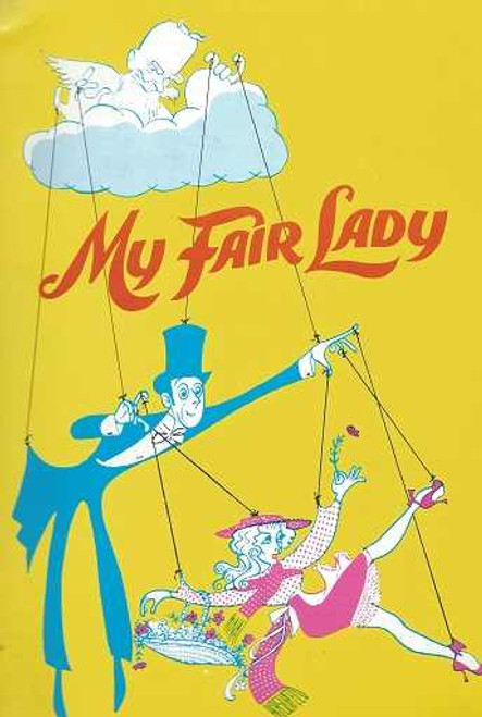 """""""My Fair Lady""""Broadway Revival, Edward Mulhare - Anne Rogers, My Fair Lady is a musical based upon George Bernard Shaw's Pygmalion and with book and lyrics by Alan Jay Lerner and music by Frederick Loewe"""