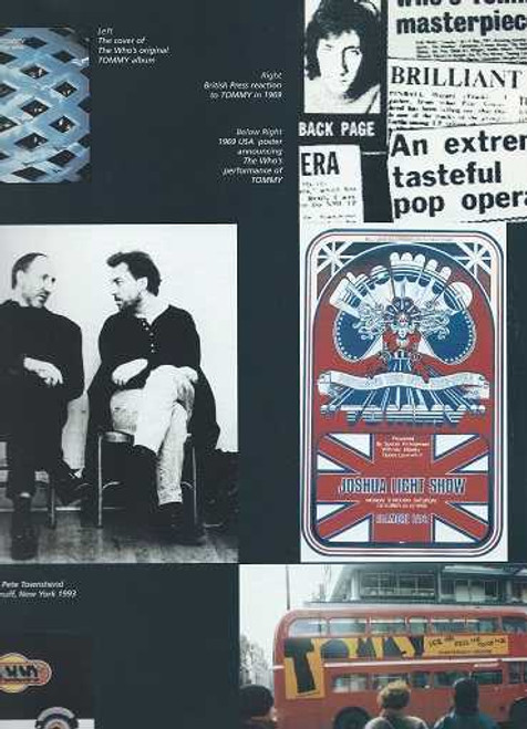"""''Tommy"""" Shaftesbury Theatre London 1996, Music & Lyrics by Pete Townshend, The Who's Tommy is a rock musical by Pete Townshend and Des McAnuff based on The Who's 1969 double album rock opera Tommy, also by Pete Townshend"""