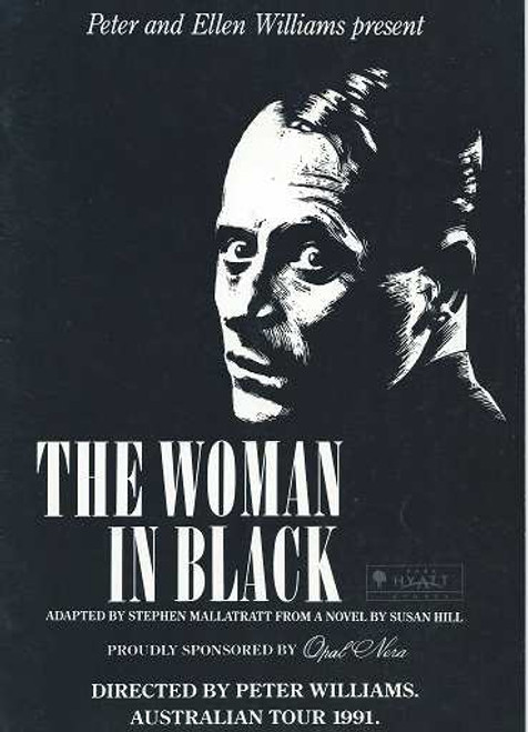The Woman in Black adapted by Stephen Mallatratt, Australian Tour 1991 Richard Todd