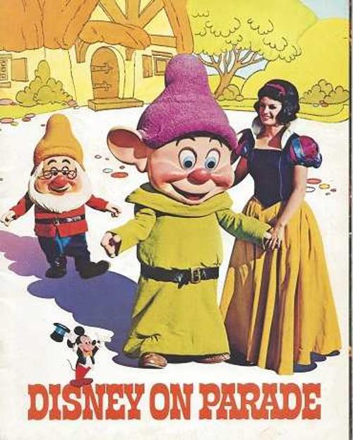 Disney on Parade Australian Tour 1975, Souvenir Brochure Great Disney Retro