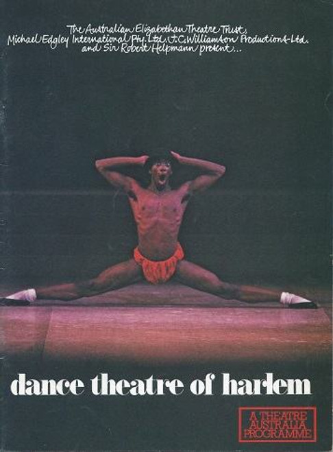 Theatre Australia Magazine, Theatre Australia July 1980, Volume 4 No 12, Cover Features Dance theatre of Harlem