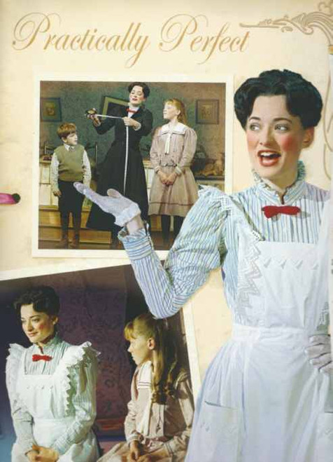 """Mary Poppins (Musical) Broadway 2006 - 2013, Photographic Album with Poppins """"Pop-Up"""""""