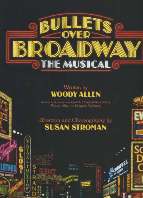Bullets Over Broadway (Musical) Broadway 2014, Zach Braff - Nick Cordero - Marin Mazzie