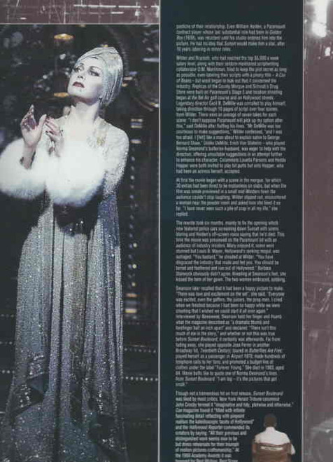 Sunset Boulevard (Musical) Broadway printed Sept 1996, Elaine Paige - Alan Campbell - Alice Rilpey