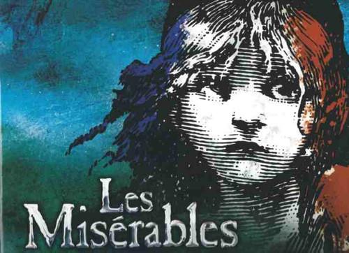 Les Miserables (Musical) 2014 Broadway Revival, Ramin Karimloo - Will Swenson - Cliff Saunders, Andy Mientus, souvenir program, show program, broadway musicals