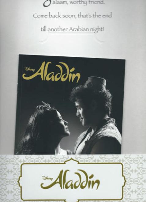 Aladdin (Musical) 2014 Broadway, James Monroe Iglehart - Adam Jacobs - Courtney Reed, Aladdin Souvenir Program, Aladdin Show Program, Broadway Musicals