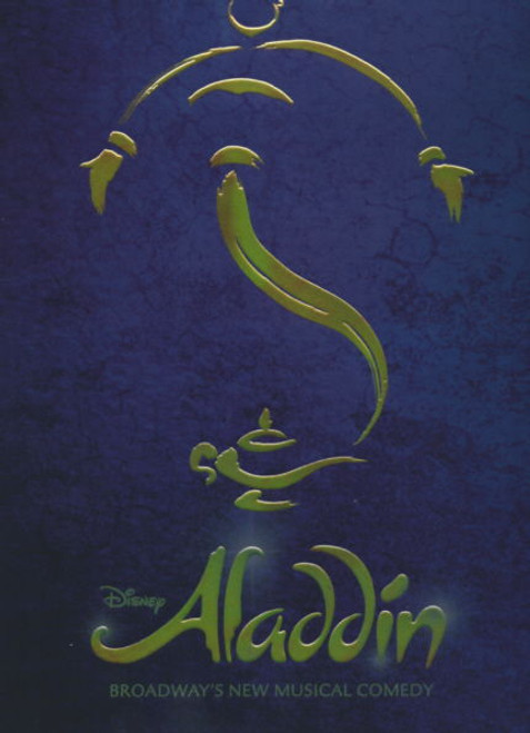 Aladdin (Musical) 2014 Broadway, James Monroe Iglehart - Adam Jacobs - Courtney Reed, Aladdin Souvenir Program, Aladdin Show Program, Broadway Musicals
