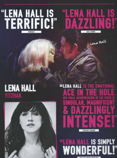 Hedwig and the Angry Inch (Musical) Broadway 2014, Neil Patrick Harris - Lena Hall, Tony voter program, Hedwig program, neil Patrick harris Hedwig, broadway musicals programs