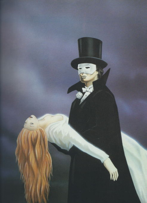 Phantom of the Opera by Ken Hill, It is the first musical adaptation of the novel The Phantom of the Opera by Gaston Leroux, phantom program, ken hill phantom program