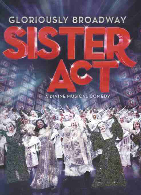 Sister Act (Musical) First National Tour, Charles Barkdale - Ernie Pruneda - Ta'Rea Campbell, souvenir program, sister act program, USA Tour Musicals