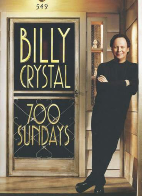 700 Sundays Broadway 2013 - 2014,  Billy Crystal, Show Program, Billy Crystal Program, 700 sundays program, broadway shows