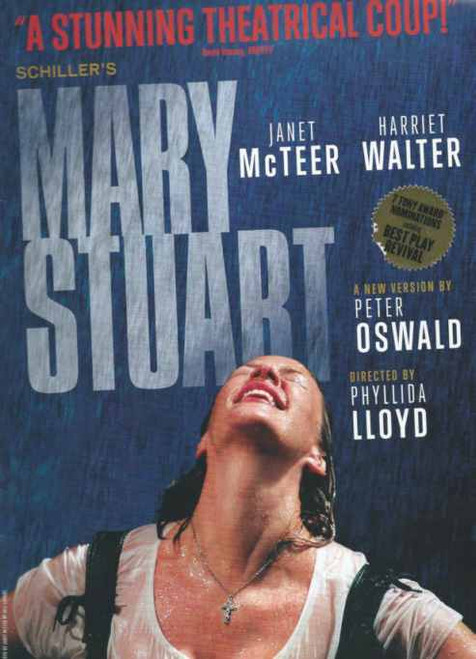 Mary Stuart (Play) Broadway 2009, Janet McTeer - Harriet Walter - Directed by Phyllida Lloyd, Tony Voter Program, Mary Stuart Souvenir Program, Broadway Programs