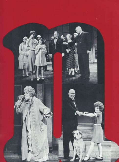 Annie on Broadway 1977 OBC, Andrea McArdle - Dorothy Loudon - Reid Shelton, Annie Souvenir Program, Annie OBC program, Broadway Musicals, Broadway Show Programs