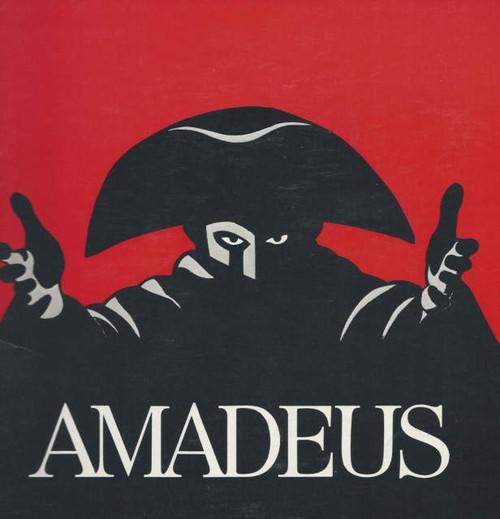 Amadeus on Broadway 1981, Ian McKellen - Peter Firth - Amy Irving, Amadeus Program, Amadeus Souvenir Program, Broadway Programs, Show Programs