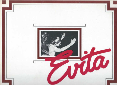 Evita on Broadway 1979 OBC, Patti Lupone - Mandy Patinkin - Bob Gunton - Jane Ohringer, Evita Program, Evita Souvenir Program, Broadway Musicals Programs, Broadway Shows