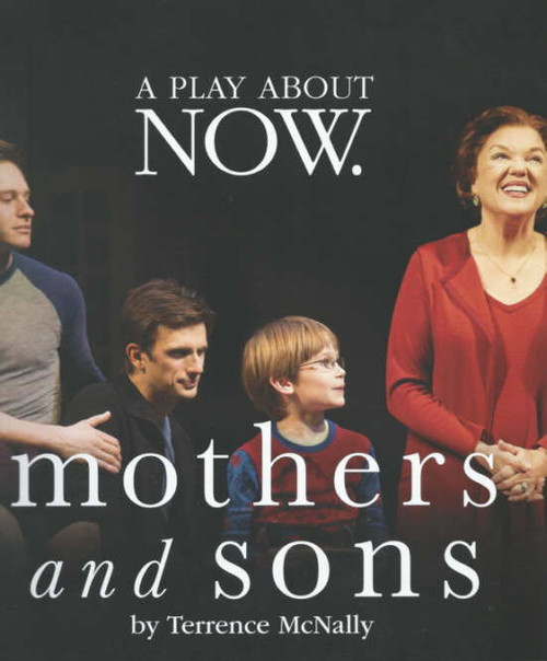 Mothers and Sons Broadway 2014,  Tyne Daly, Frederick Weller, Grayson Taylor, Bobby Steggert, Mothers and Sons program, Mothers and Sons souvenir program, Mothers and Sons show program, Broadway Play